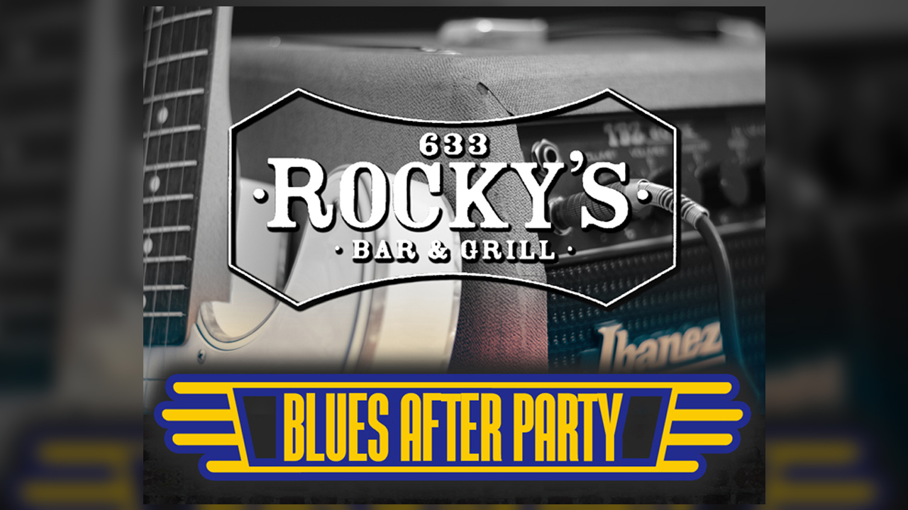 Blues After Party at Rocky's Bar & Grill Downtown Grand Rapids MI